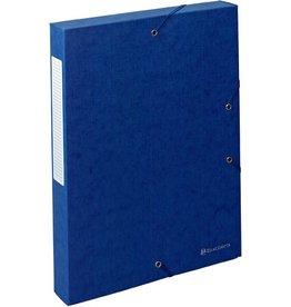 EXACOMPTA Dokumentenbox Exabox, Manilakarton, A4, 24x4x32cm, blau