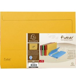 EXACOMPTA Dokumentenmappe Forever®, Karton (RC), Klappe, A4, gelb, intensiv
