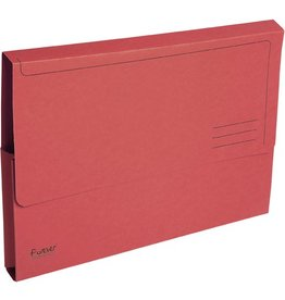 EXACOMPTA Dokumentenmappe Forever®, Karton (RC), Klappe, A4, rot, intensiv