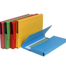 EXACOMPTA Dokumentenmappe Forever®, Karton (RC), Klappe, A4, sortiert, intensiv