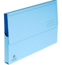 EXACOMPTA Dokumentenmappe NATURE®, Manilakarton, Klappe, A4, blau, intensiv