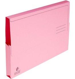 EXACOMPTA Dokumentenmappe NATURE®, Manilakarton, Klappe, A4, rosa, intensiv