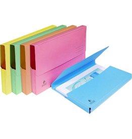 EXACOMPTA Dokumentenmappe NATURE®, Manilakarton, Klappe, A4, sortiert, pastell