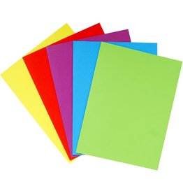 EXACOMPTA Dokumentenmappe Rock, Karton, ohne Verschluss, A4, 5farbig sortiert