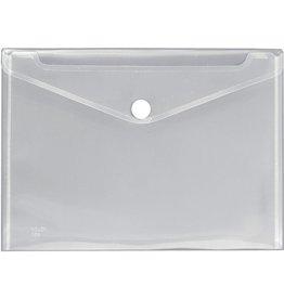 VELOFLEX Dokumententasche Crystal, PP, Klettverschluss, A4, transparent