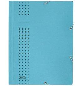 ELBA Eckspanner chic, 3Kl., A4, 24,1x32,2cm, für: 150Bl., blau