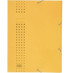 ELBA Eckspanner chic, 3Kl., A4, 24,1x32,2cm, für: 150Bl., gelb
