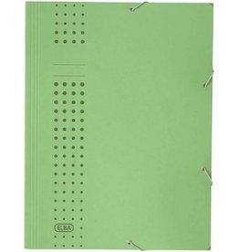 ELBA Eckspanner chic, 3Kl., A4, 24,1x32,2cm, für: 150Bl., grün