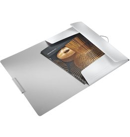LEITZ Eckspanner Style, PP, 3 Klappen, A4, für: 150 Blatt, arktikweiß
