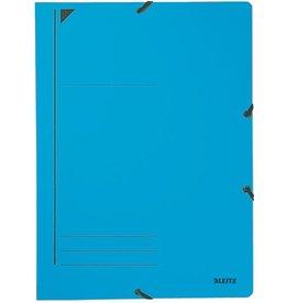 LEITZ Eckspanner, Karton, 400g/m², A4, 23,2x31,8cm, blau