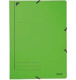 LEITZ Eckspanner, Karton, 400g/m², A4, 23,2x31,8cm, grün