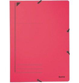 LEITZ Eckspanner, Karton, 400g/m², A4, 23,2x31,8cm, rot