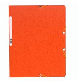 EXACOMPTA Eckspanner, Manilakarton, 400 g/m², A4, 24 x 32 cm, orange