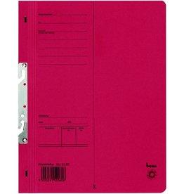 bene Einhakhefter, Karton (RC), 250 g/m², A4, 23,5 x 30,5 cm, rot