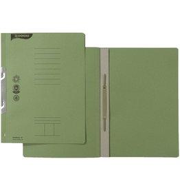 DONAU Einhakhefter, Karton (RC), 250 g/m², kfm. Heft., A4, grün
