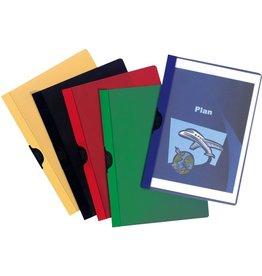 STAPLES Klemmmappe, A4, für: 1 - 30 Blatt, 5farbig sortiert