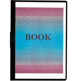 STAPLES Klemmmappe, transparenter Vorderdeckel, A4, für: 1 - 60 Blatt, schwarz