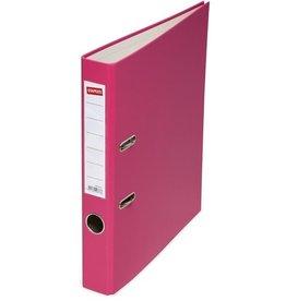 STAPLES Ordner, PP, A4, 50 mm, pink