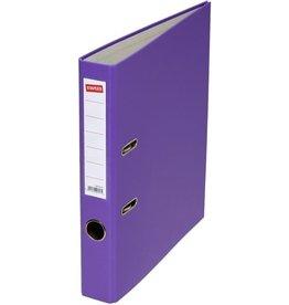 STAPLES Ordner, PP, A4, 50 mm, violett