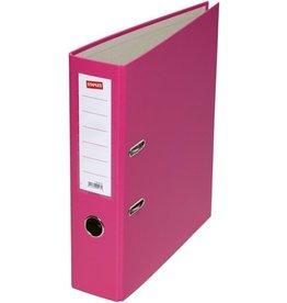 STAPLES Ordner, PP, A4, 80 mm, pink