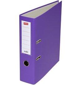 STAPLES Ordner, PP, A4, 80 mm, violett