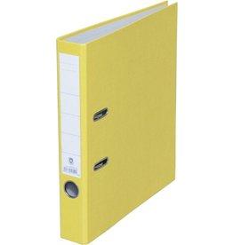 STAPLES Ordner, Spezialpapier, SK-Rückenschild, A4, 50 mm, gelb