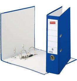 STAPLES Ordner, Spezialpapier, SK-Rückenschild, A4, 80 mm, blau