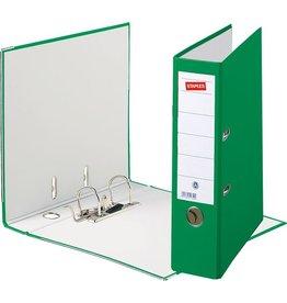 STAPLES Ordner, Spezialpapier, SK-Rückenschild, A4, 80 mm, grün