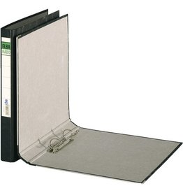 ELBA Ordner, Wolkenmarmorpapier (RC), SK-Rückenschild, A4, 38 mm, schwarz