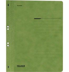 FALKEN Ösenhefter, 1/1 Vorderd., kfm. Heft./Amtsheft., A4, grün