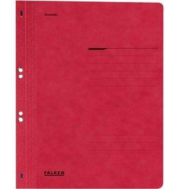 FALKEN Ösenhefter, 1/1 Vorderd., kfm. Heft./Amtsheft., A4, rot