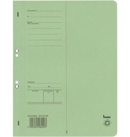 bene Ösenhefter, Karton (RC), 1/1 Vorderdeckel, A4, grün
