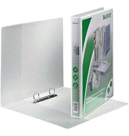 LEITZ Präsentationsringbuch Stand., A4, ü, 2-D-R-Mech., Ring-Ø: 20 mm, weiß