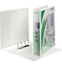 LEITZ Präsentationsringbuch Stand., A4, ü, 2-D-R-Mech., Ring-Ø: 40 mm, weiß