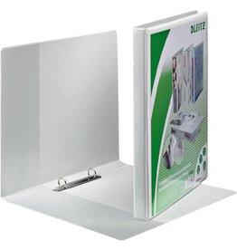 LEITZ Präsentationsringbuch Stand., A4, ü, 2-R-Mech., Ring-Ø: 16mm, weiß
