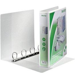 LEITZ Präsentationsringbuch Stand., A4, ü, 4-D-R-Mech., Ring-Ø: 40mm, weiß