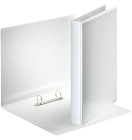 Esselte Präsentationsringbuch, A4, 2 Rund-Ring Mechanik, Ring-Ø: 25mm, weiß