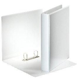 Esselte Präsentationsringbuch, A4, 2-D-Ring-Mechanik, Ring-Ø: 30mm, weiß