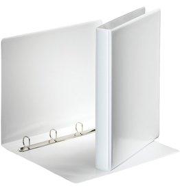 Esselte Präsentationsringbuch, A4, 4-D-Ring-Mechanik, Ring-Ø: 20mm, weiß
