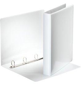 Esselte Präsentationsringbuch, A4, 4-D-Ring-Mechanik, Ring-Ø: 25mm, weiß