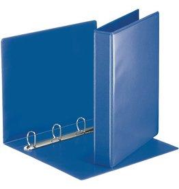 Esselte Präsentationsringbuch, A4, 4-D-Ring-Mechanik, Ring-Ø: 30mm, blau