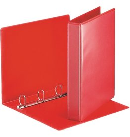 Esselte Präsentationsringbuch, A4, 4-D-Ring-Mechanik, Ring-Ø: 30mm, rot