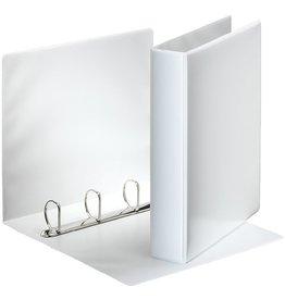 Esselte Präsentationsringbuch, A4, 4-D-Ring-Mechanik, Ring-Ø: 40mm, weiß