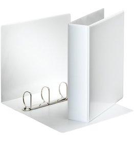 Esselte Präsentationsringbuch, A4, 4-D-Ring-Mechanik, Ring-Ø: 50mm, weiß