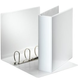 Esselte Präsentationsringbuch, A4, 4-D-Ring-Mechanik, Ring-Ø: 60mm, weiß