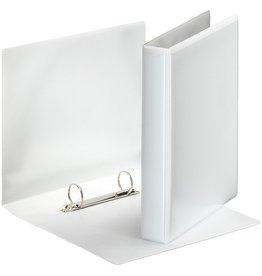 Esselte Präsentationsringbuch, A5, 2-D-Ring-Mechanik, Ring-Ø: 25mm, weiß