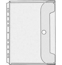 VELOFLEX Prospekthülle Jumbo, für 30 Blatt, PP, A4, 0,2mm, transparent