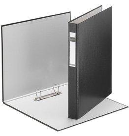 LEITZ Ringbuch Standard, A4, ü, 2-D-R-Mech., Ring-Ø: 25mm, schwarz