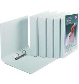 VELOFLEX Ringbuch VELODUR, PP-kaschiert, A4, 2-R-Mech., Ring-Ø: 60mm, weiß