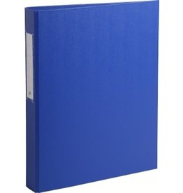 EXACOMPTA Ringbuch, Karton, A4, 2-Ring-Mechanik, Ring-Ø: 25 mm, blau